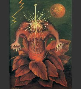Flower of Life, by Frida Kahlo