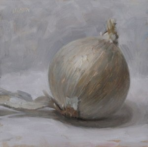 """White Onion"" by Justin Clayton"