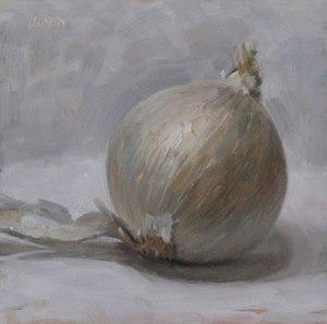 """White Onion"" by Justin Clayton"