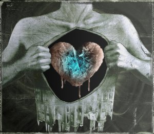 frozen heart, By Sephirothsdx