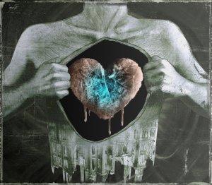 frozen heart, By Sephirothsdx